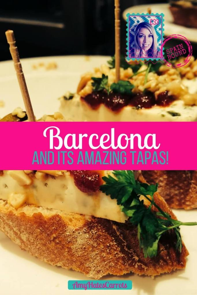 Barcelona, spain is truly one of my favorites cities in the world! The amazing tapas are just a bonus!