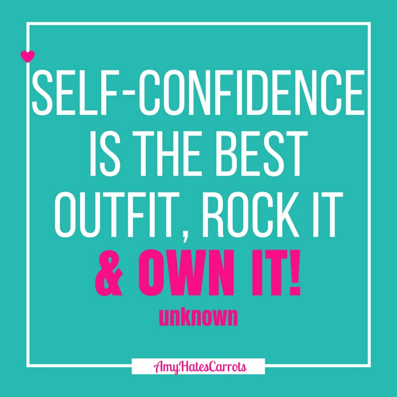 Self-confidence is the best outfit, rock it & own it! | How to build a capsule wardrobe