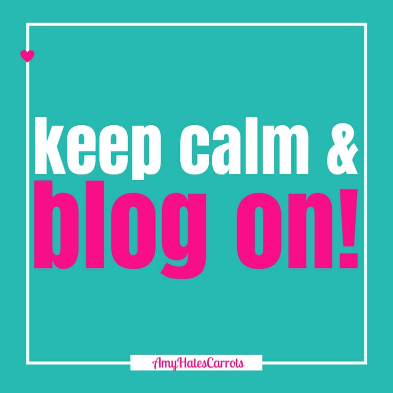 Keep calm & blog on! Get a super handy blog post checklist [before & after clicking publish] here!