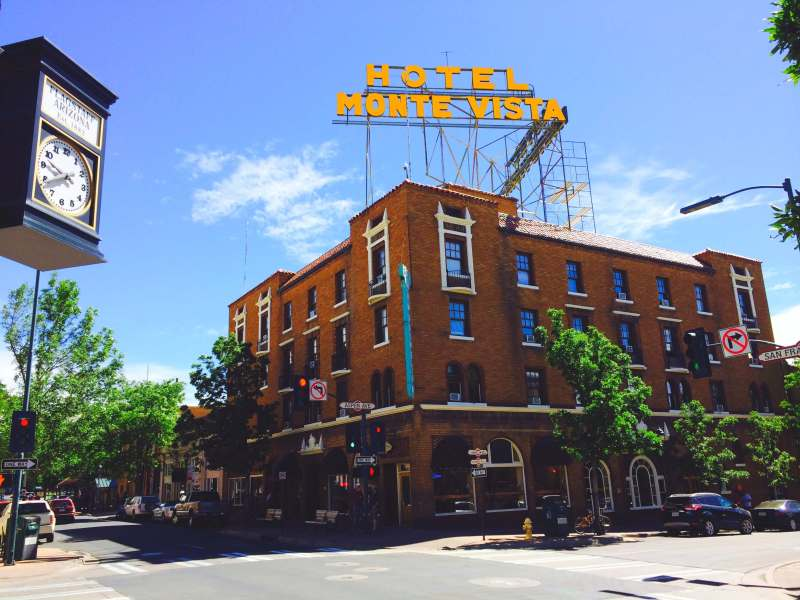 I made sure Flagstaff, Arizona was a stop along my solo 48 state road trip...it's so cute!