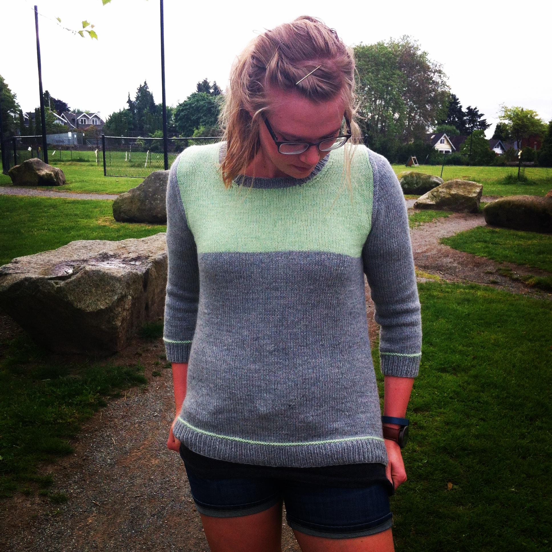 4b2f419ce Lauren s Summer Knitting - Amy Herzog Designs