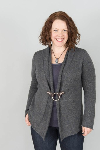 Point Pinos Cardigan from make. wear. love. west retreat collection