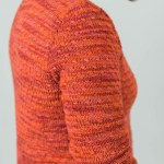 Take Wing, a textured cardigan design by Amy Herzog