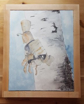 """8""""x10"""" Birch w/ Maple Frame - Available"""