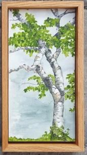 "Intertwined - 6""x12"" Original Watercolor"