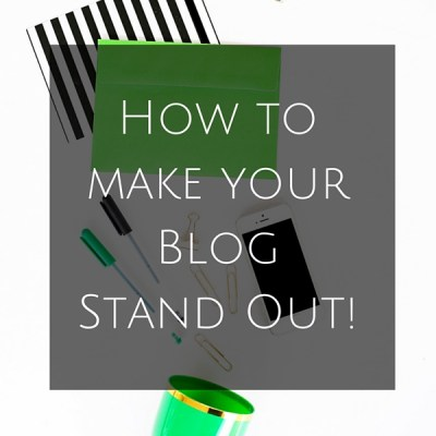 How to STAND OUT in your blog. This eBook is jam packed with vital information that has been tested and true. Learn exactly how to make your blog STAND OUT!