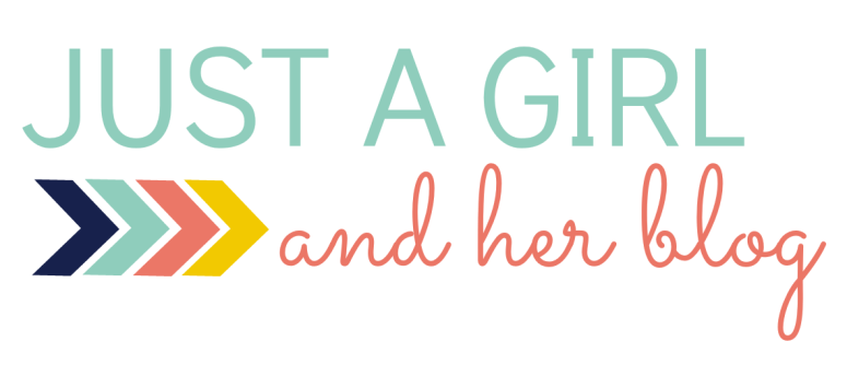Just a Girl and Her Blog Logo