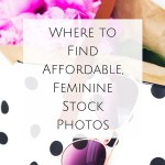 Where to Find Affordable, Feminine Stock Photos
