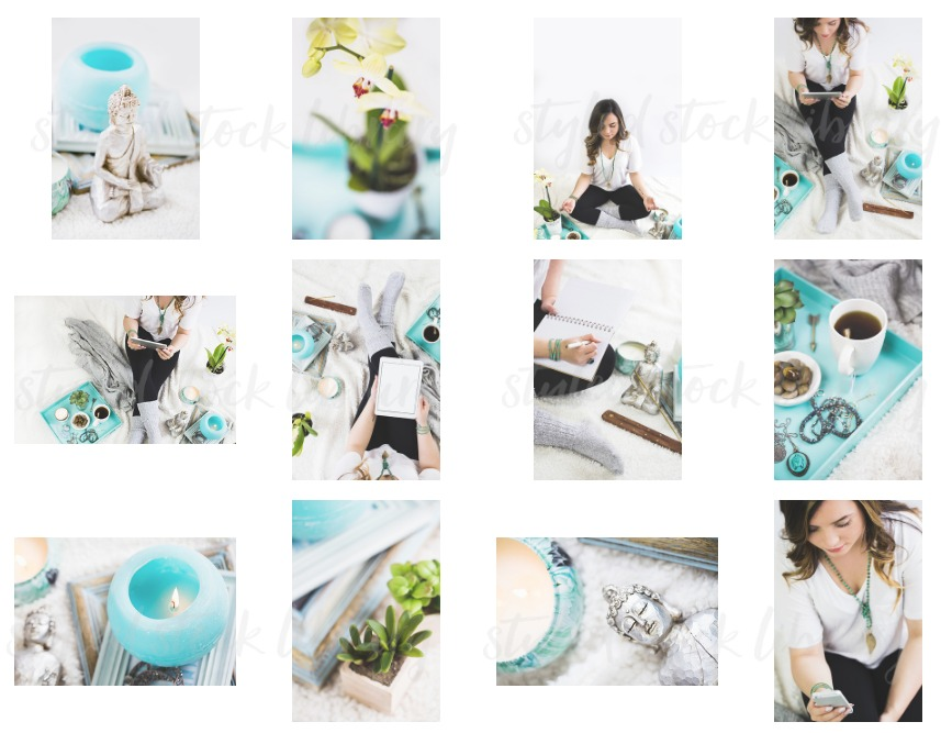 Trying to figure out how to save money on stock photos? Here is the ultimate resource on where to find affordable, feminine stock photos! (Haute Chocolate)