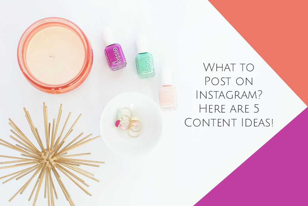 Do you ask yourself this: What should I post on Instagram? Here is your answer. What to Post on Instagram? Here are 5 Content Ideas from Amy Howard Social