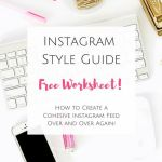 FREE Instagram Style Guide