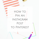 How to Pin an Instagram Post to Pinterest