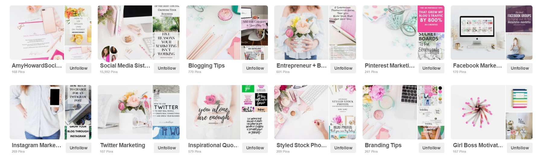 Find out how to update your Pinterest Board Covers with Stock Photography with these tips from Pinterest and social media strategist, Amy Howard Social!