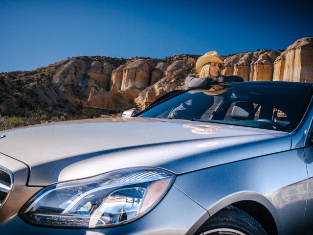 Amy on a Southwest Adventure With an E350 Mercedes-Benz