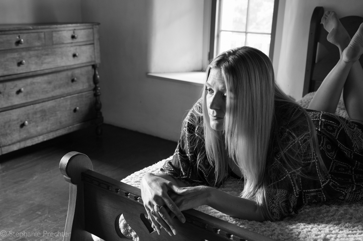 Amy Hulse at Los Luceros Hacienda © Stephanie Prechter