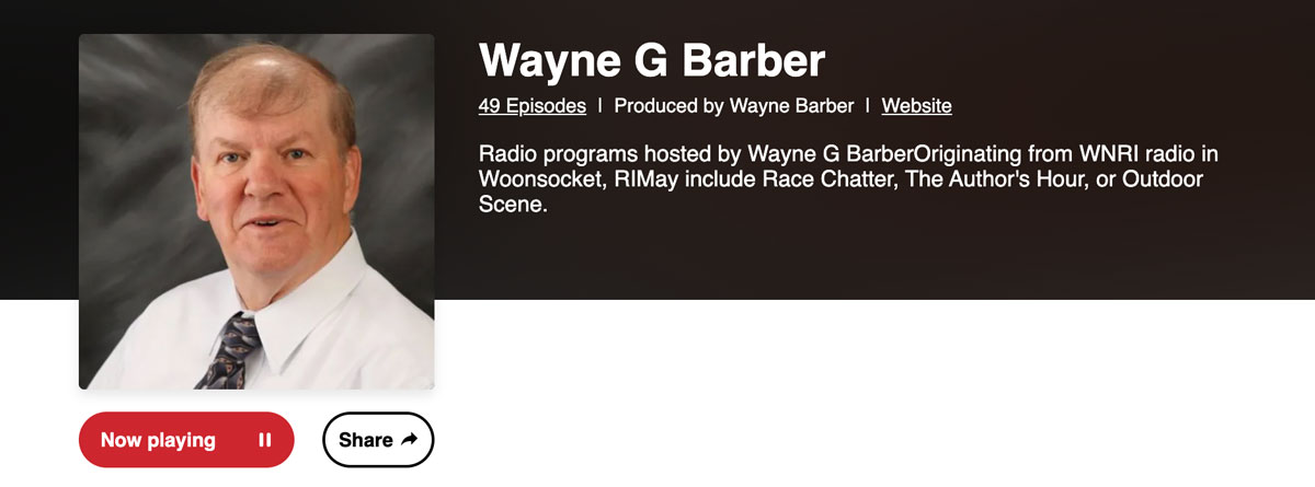 Amy Jean Interview with Wayne G. Barber (pictured)