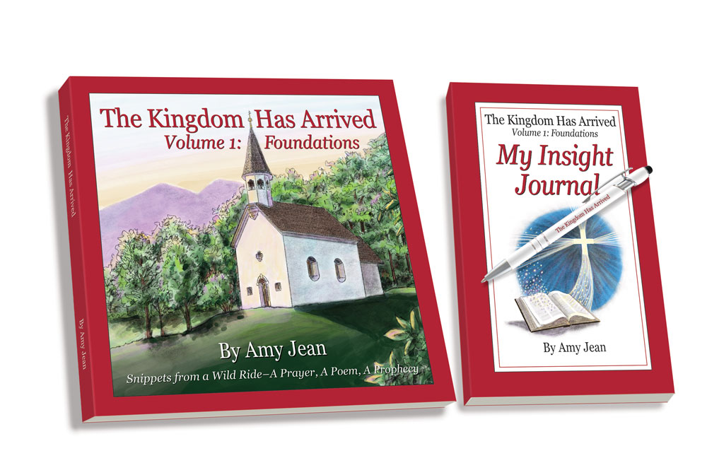 The Kingdom Has Arrived Volume 1, My Insight Journal and Pen Bundle by Amy Jean