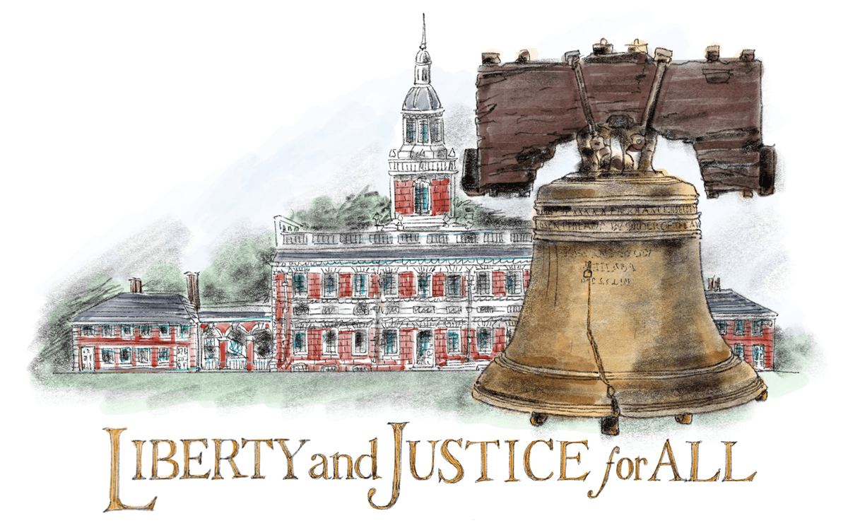Amy Jean Blog - Liberty and Justice for All - Liberty Bell