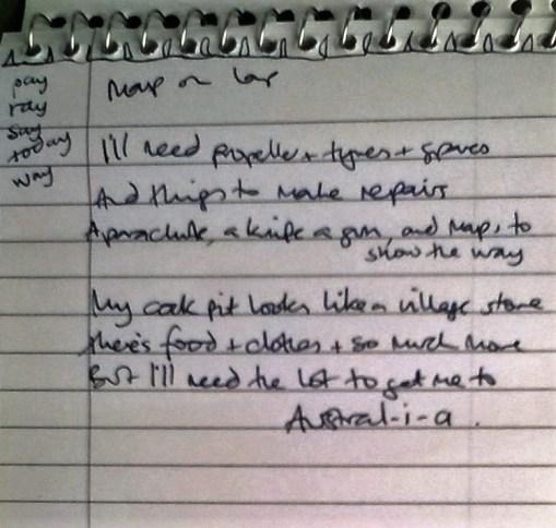 lyrics pt 2 Off to Austral-i-a