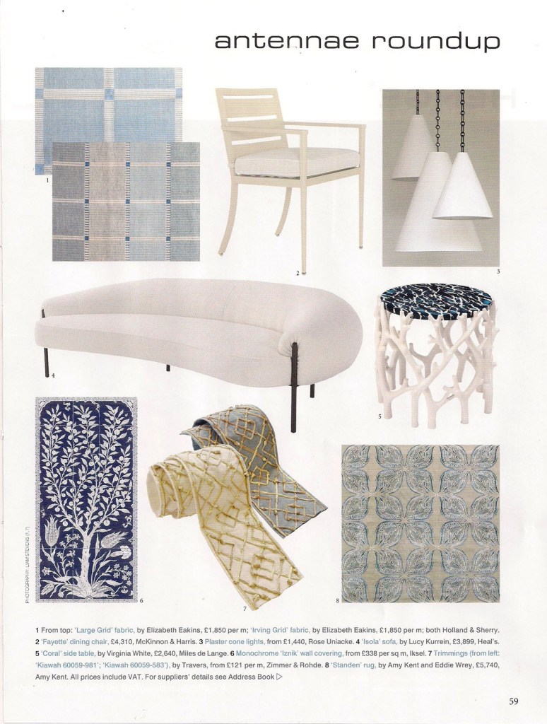 World Of Interiors Oct 19