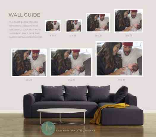 Living Room Wall Guide Landscape