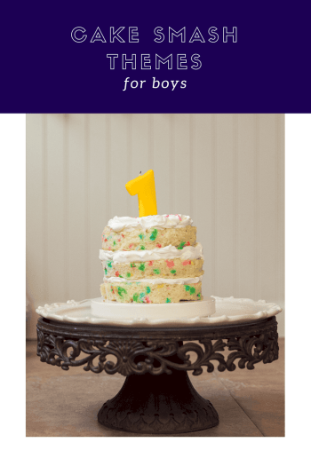 Cake Smash Themes for boys