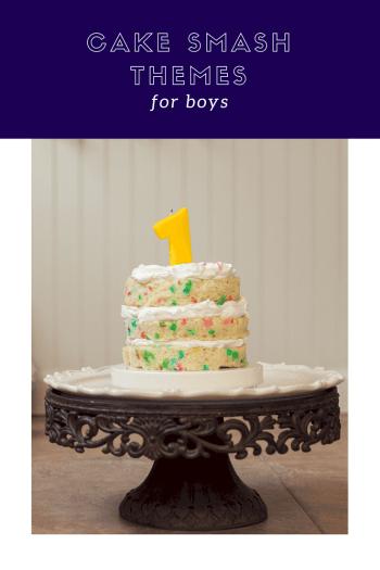 Cake Smash Themes for boys