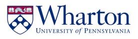 The Wharton School at the University of Pennsylvania