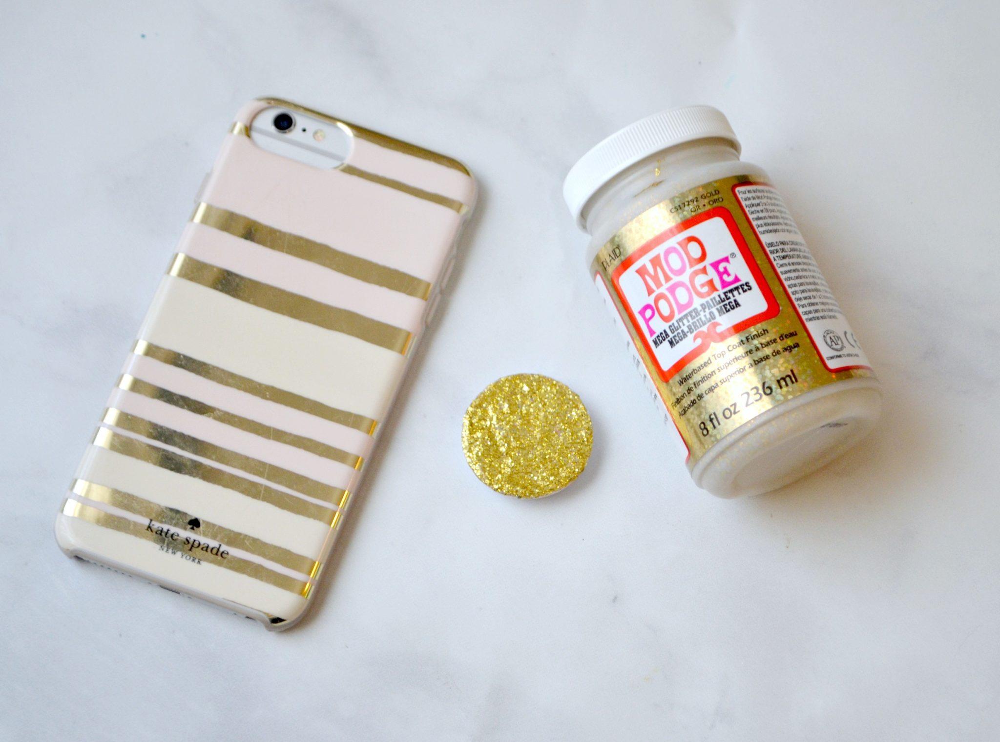 hot sale online 80810 83a06 Mega Glitter Pop Socket - Amy Latta Creations