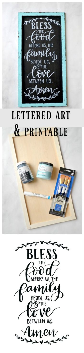 Hand Lettering Art and Printable