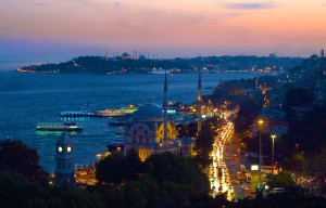 sunset over Istanbul_5296