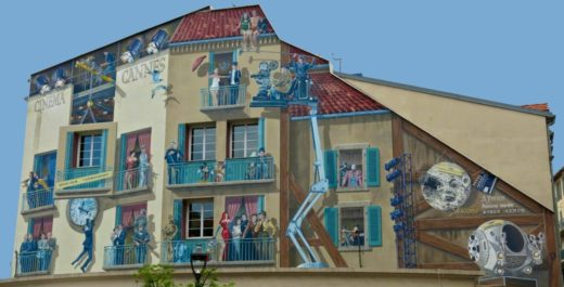 Cannes mural