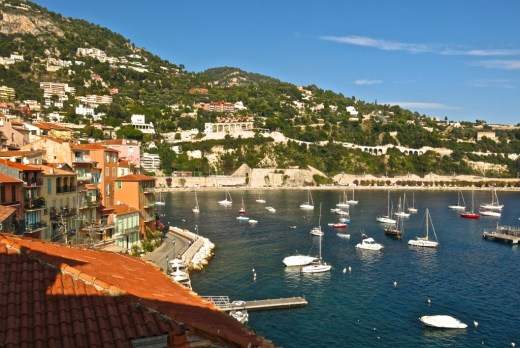 Villefranche-sur-Mer view from Hotel Welcome