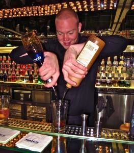 House of Bols bartender Sven Toereng