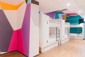 Dorm room. Photo courtesy Generator London.