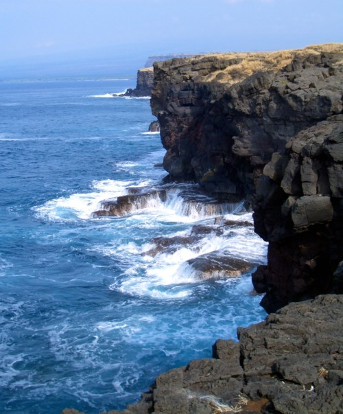South Point cliffs