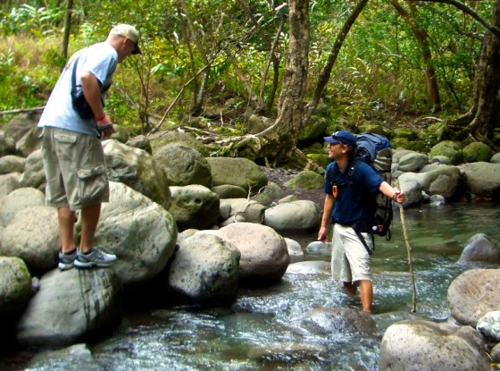 rainforest rocky river crossing_Maui0306A 148 (1)