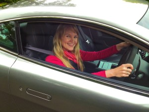 Who ever thought it was a good idea to let Leadfoot Laughinghouse behind the wheel of an Aston Martin?