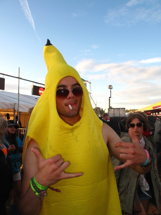 And your Cheeky-Ta Banana outfit, of course.