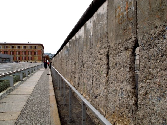 """One guide says that if you were to put all the chunks of concrete that have been sold as """"part of the Berlin Wall"""" back together, you could rebuild it three times over. Let's hope that never happens."""