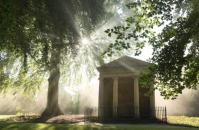 Temple of Diana, where Winston Churchill proposed to his wife. Courtesy Blenheim Palace