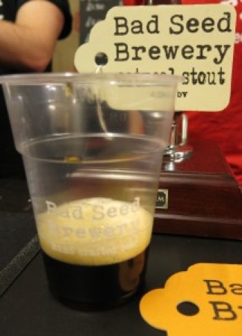 Bad Seed Brewery oatmeal stout_1096