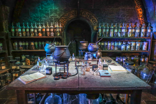 Harry Potter potions classroom