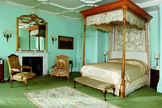 """Lady Cora's"" bedroom at Highclere Castle, Copyright Highclere Enterprises LLP"