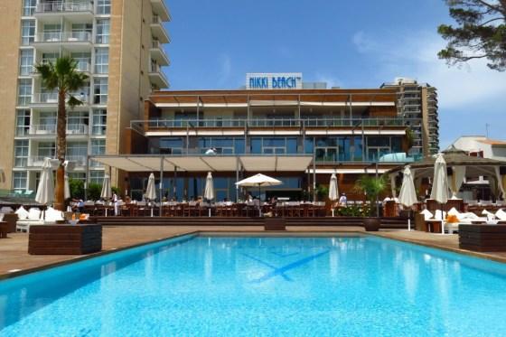 pool at Nikki Beach Mallorca