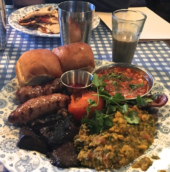 The Big Bombay...Dishoom's version of a full English breakfast.