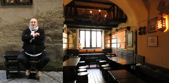 De Ciro Taverna in Sorrento, the owner and the interior