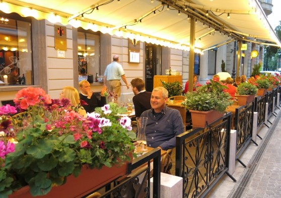 Borkonyha, with its Michelin-starred cuisine and airy terrace, is one of Budapest's most popular restaurants.