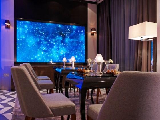 Lounge area at Eccleston Square. Courtesy Eccleston Square Hotel.