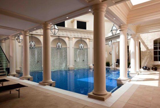 Spa pool at The Gainsborough Bath Spa. Courtesy The Gainsborough Bath Spa.